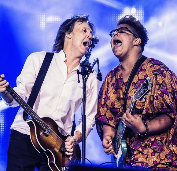 "Watch Paul McCartney Play ""Get Back"" With Alabama Shakes' Brittany Howard At Lollapalooza"