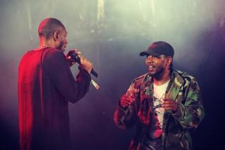 """Watch Mos Def Join Kendrick Lamar On """"Alright"""" At Osheaga"""