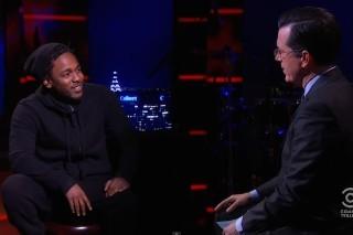 Kendrick Lamar Will Be Stephen Colbert&#8217;s First <em>Late Show</em> Musical Guest