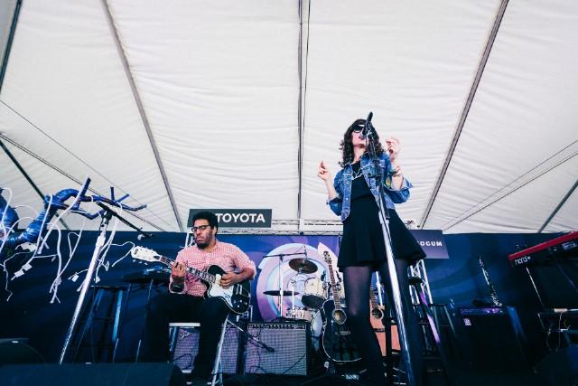 Natalie Prass @ Toyota Tent, Outside Lands 2015