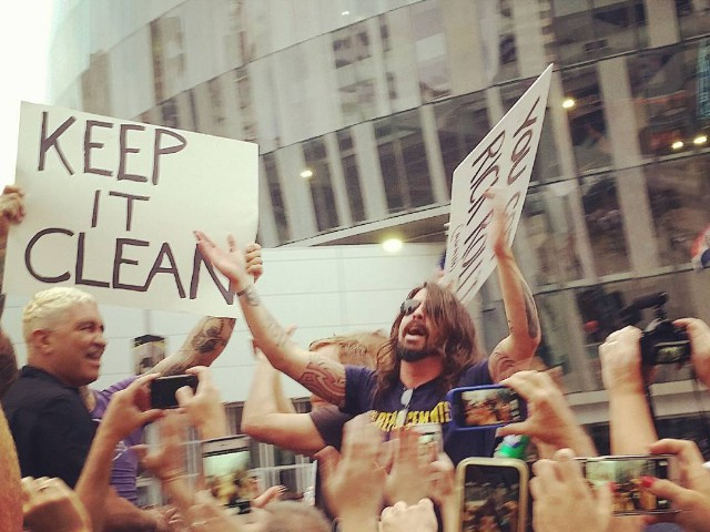 Watch Foo Fighters Rickroll The Westboro Baptist Church