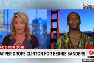 Lil B Endorses Bernie Sanders On CNN, Sanders Says Thanks