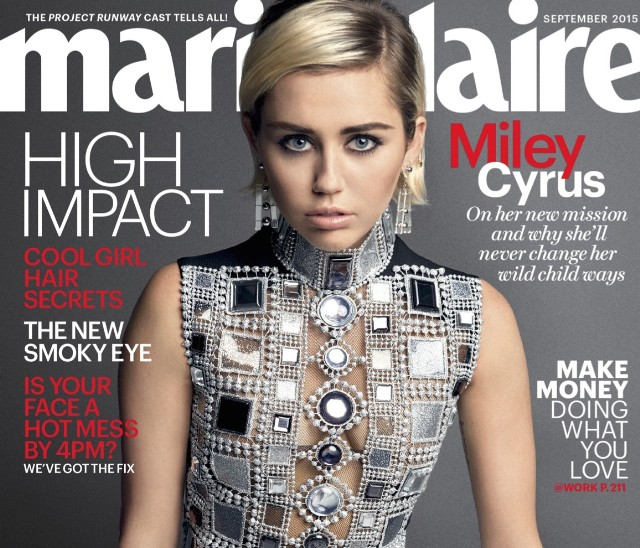 Miley Cyrus Takes A Shot At Taylor Swift In New Interview