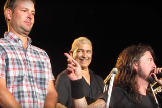"""Watch Foo Fighters Console Denver Man Crying During """"My Hero"""""""