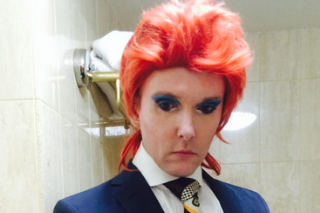 British Professor Spending A Year Dressed Up As David Bowie's Various Personas