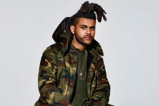 The Weeknd Models Kanye West's New Yeezy Collection