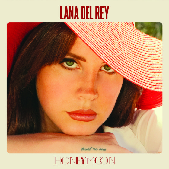 Lana Del Rey - Honeymoon (Urban Outfitters Art)