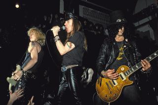 Axl Rose & Slash May Be Making Up