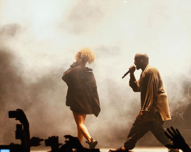 Watch Rihanna And Travi$ Scott Join Kanye West At FYF Fest