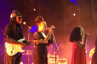 Watch Solange & Dev Hynes Reconcile At FYF Fest
