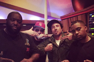 Run The Jewels Hit The Studio With Nas & Zack De La Rocha
