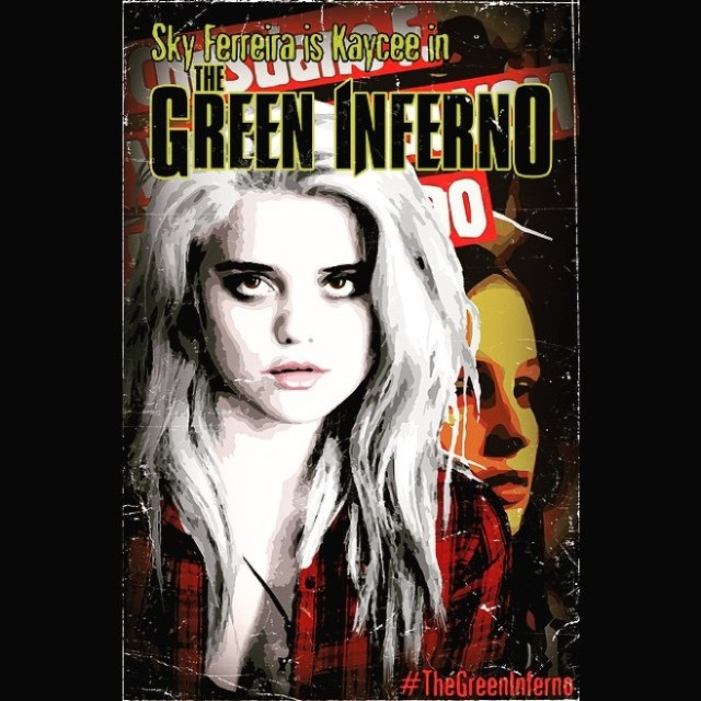 Watch A Clip Of Sky Ferreira In Horror Film The Green Inferno