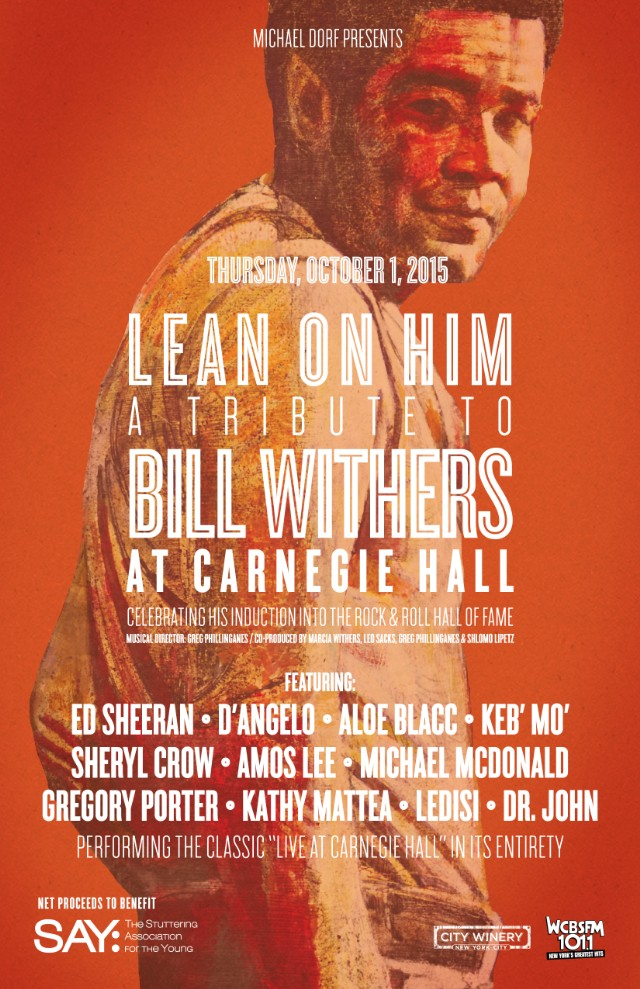 Bill Withers tribute show
