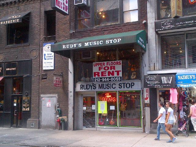 NYC's Music Row Is Officially Dead