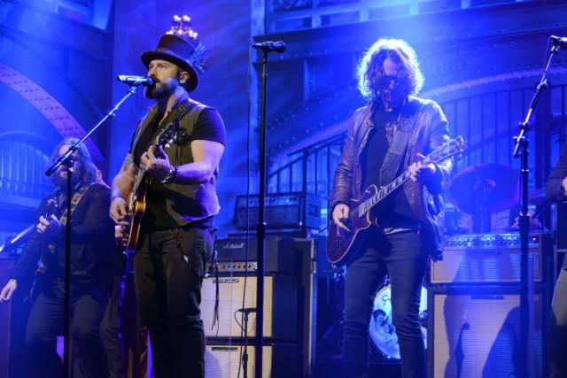 Zac Brown and Chris Cornell