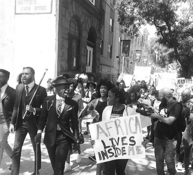 Jidenna protest