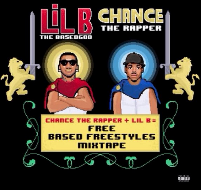 Image result for lil b chance the rapper