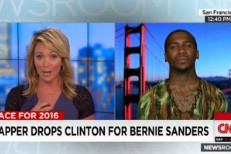 Lil B on CNN