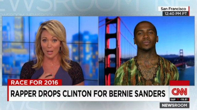 Lil B Endorses Bernie Sanders On CNN, Sanders Says Thanks - Stereogum