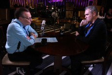 Watch Morrissey Talk Suicide, Airport Assault With Larry King; Perform On <em>James Corden</em>