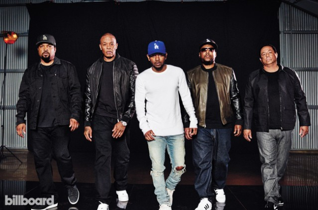 NWA and Kendrick Lamar