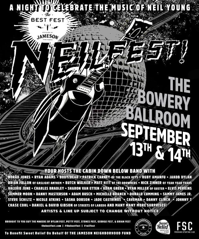 Neil Young Tribute Concert Lines Up Ryan Adams, Sharon Van Etten, Body/Head, Patrick Carney, & More