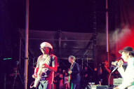 "Watch Beck Play ""Where It's At"" With Nile Rodgers At Fold Festival"