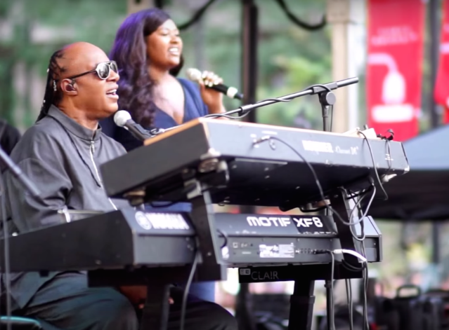 Stevie Wonder Played Free Surprise Shows In Philadelphia, DC, & NYC Today