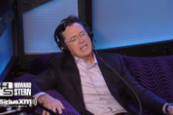Watch Stephen Colbert&#8217;s Mick Jagger Impression On <em>Howard Stern</em>