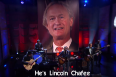 Watch Aimee Mann &#038; Ted Leo Sing About Lincoln Chafee On <em>Conan</em>