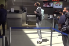 Hoverboard-Riding Wiz Khalifa Arrested For Being Ahead Of His Time