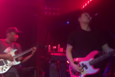 "Watch Mark Hoppus, Tom Morello, T-Bone Burnett, And Mumford & Sons Play Blink-182's ""What's My Age Again?"" In LA"