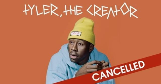 Tyler The Creator Canceled Tour Dates