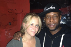 "Watch Amy Schumer Perform ""Get 'Em High"" With Talib Kweli In Chicago"
