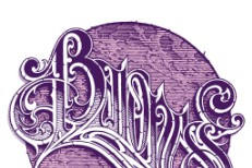 Baroness - Purple logo
