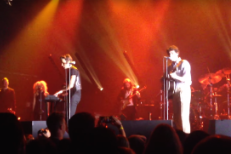 "Watch Brandon Flowers Cover Buster Poindexter's ""Heart Of Gold"" In Boston"