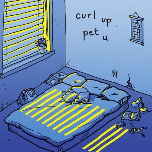 """curl up - """"pet u"""""""