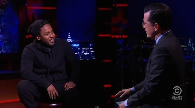 Kendrick Lamar Will Be Stephen Colbert's First Late Show Musical Guest