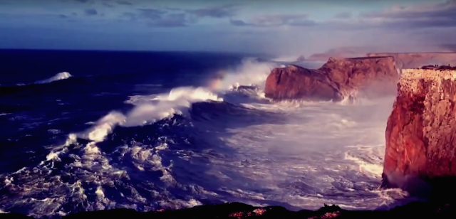 """Foals - """"A Knife In The Ocean"""" Lyric Video"""