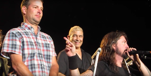 Foo Fighters Console Sad Denver Fan