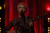 Watch Laura Marling Bring &#8220;I Feel Your Love&#8221; To <em>James Corden</em>