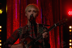 "Watch Laura Marling Bring ""I Feel Your Love"" To James Corden"