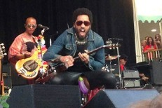Lenny Kravitz Penis Makes Stage Debut In Sweden
