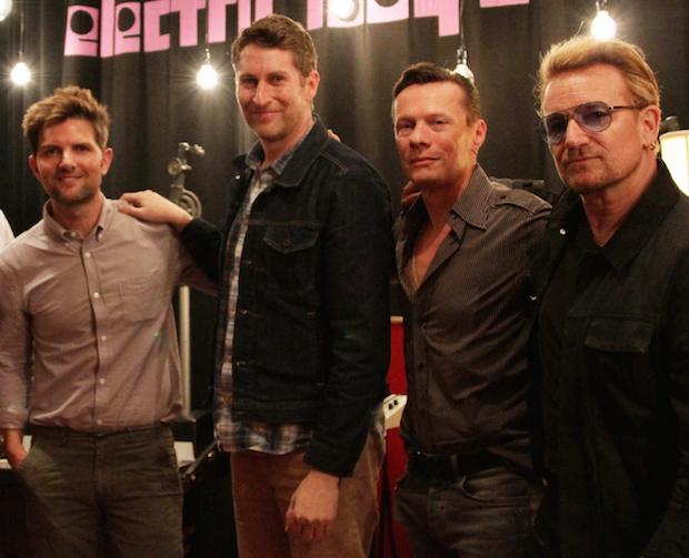 Hear U2 On Scott Aukerman & Adam Scott's U Talkin' U2 To Me Podcast