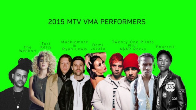 Here Are The 2015 MTV VMA Performers
