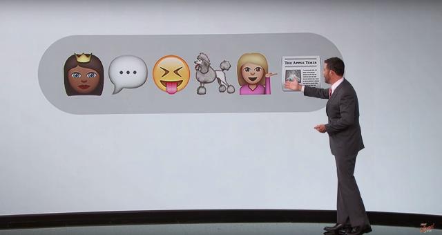 Jimmy Kimmel VMAs Emojis