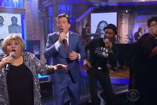 Watch The Surprise All-Star Musical Finale Of The <em>Late Show With Stephen Colbert</em> Premiere