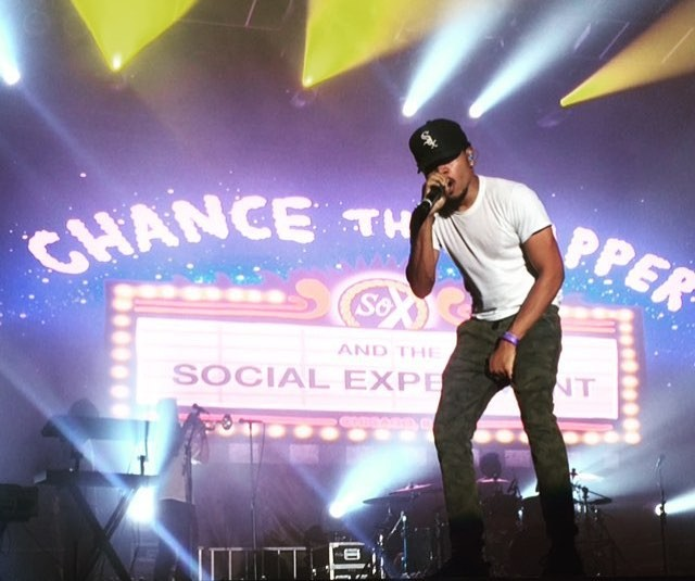 """Watch Chance The Rapper Cover Kanye West's """"Family Business"""" At Summer Ends Fest"""