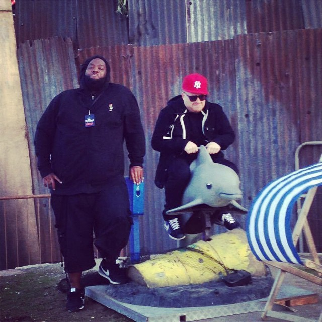 Watch Run The Jewels Perform At Banksy's Dismaland