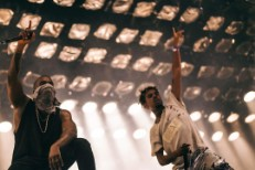 Watch Kanye West Bring Out Travis Scott & Vic Mensa At Summer Ends Fest